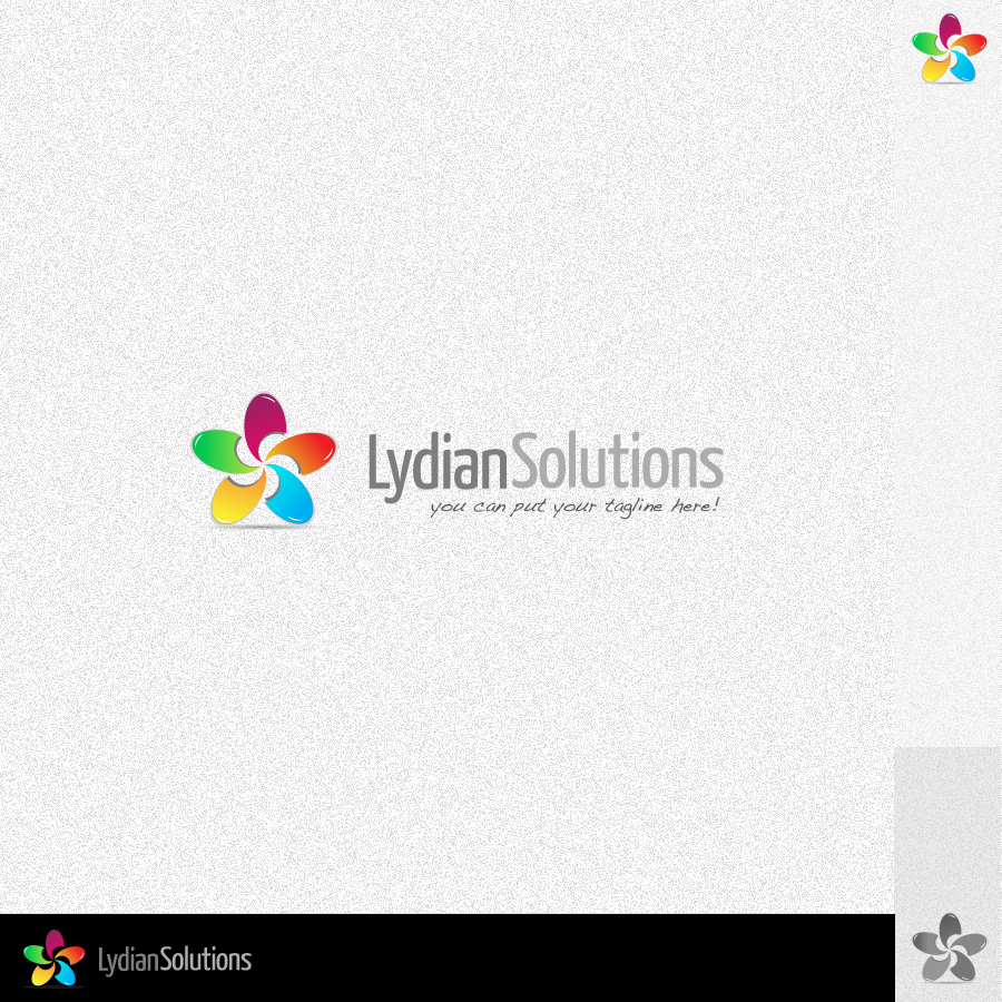Logo Design by rockpinoy - Entry No. 57 in the Logo Design Contest Fun Logo Design for Lydian Solutions.