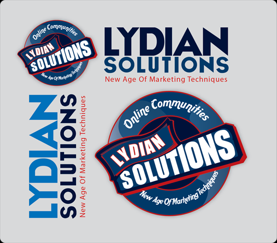 Logo Design by Md Iftekharul Islam Pavel - Entry No. 58 in the Logo Design Contest Fun Logo Design for Lydian Solutions.