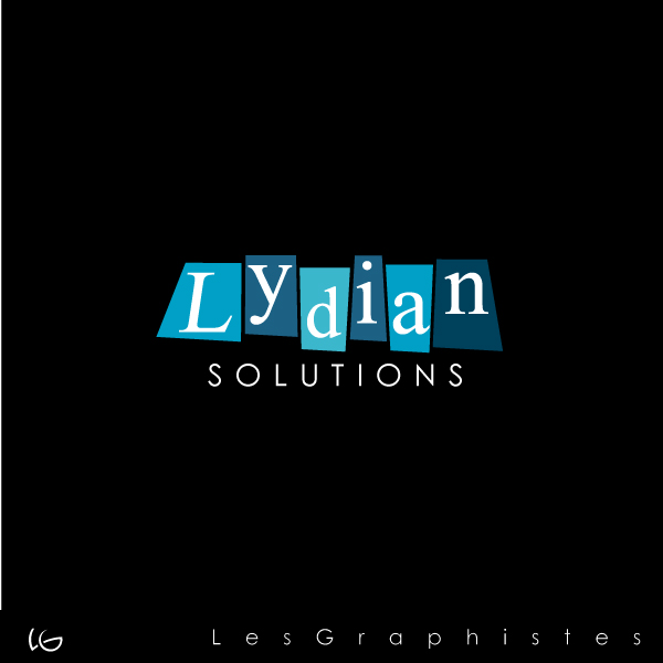 Logo Design by Les-Graphistes - Entry No. 66 in the Logo Design Contest Fun Logo Design for Lydian Solutions.