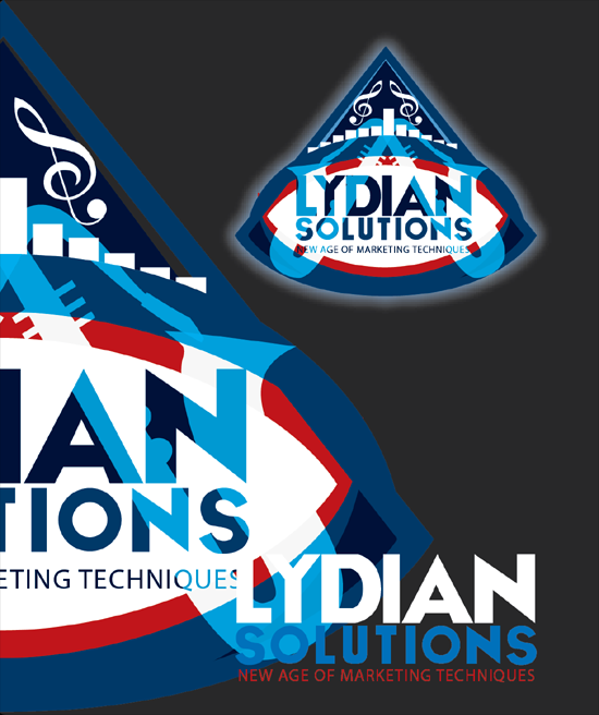 Logo Design by Md Iftekharul Islam Pavel - Entry No. 68 in the Logo Design Contest Fun Logo Design for Lydian Solutions.