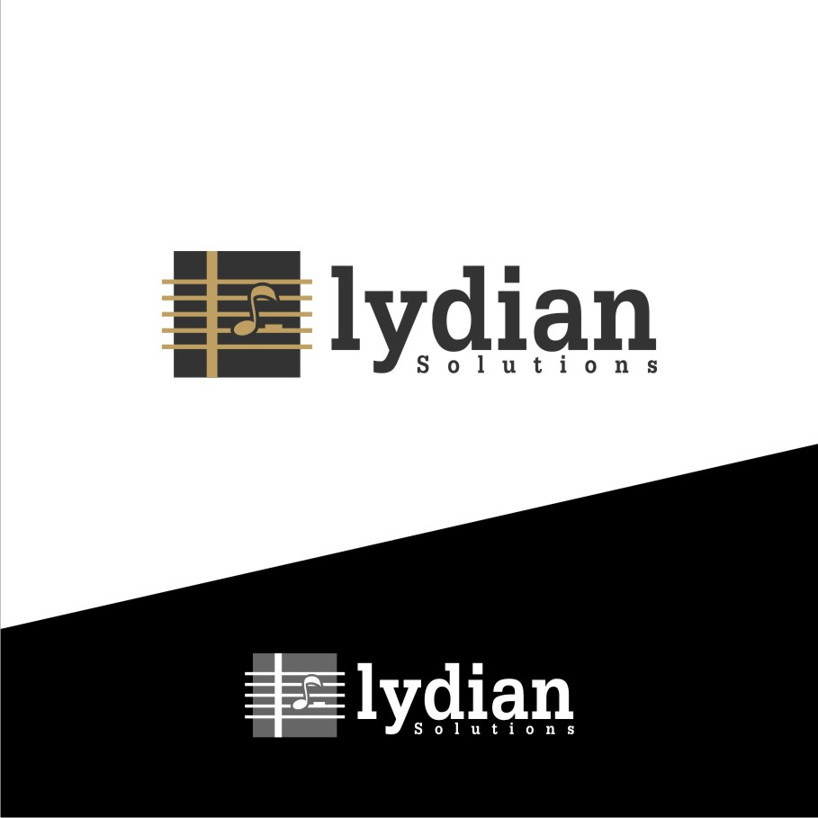 Logo Design by graphicleaf - Entry No. 70 in the Logo Design Contest Fun Logo Design for Lydian Solutions.