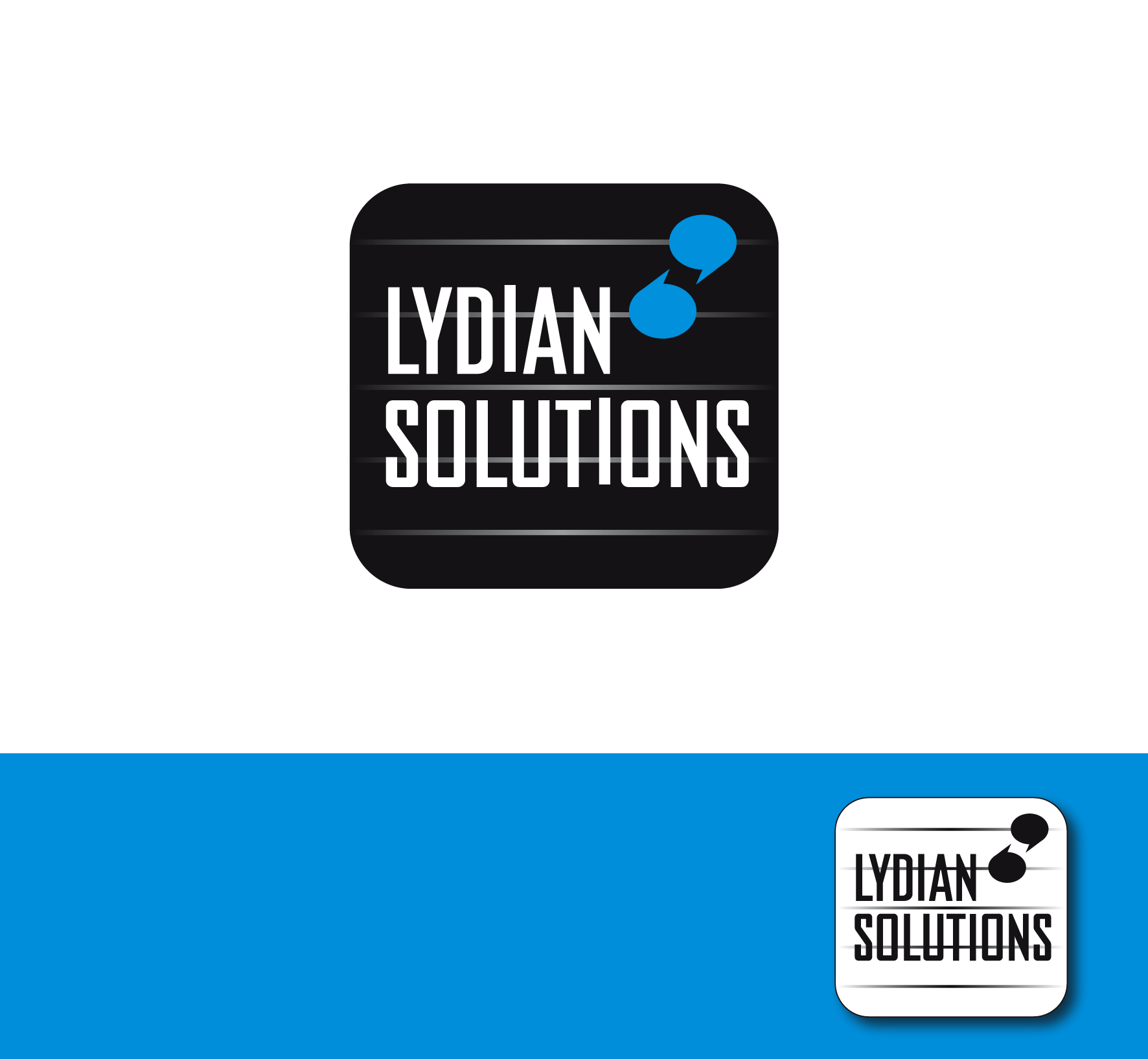 Logo Design by luna - Entry No. 72 in the Logo Design Contest Fun Logo Design for Lydian Solutions.