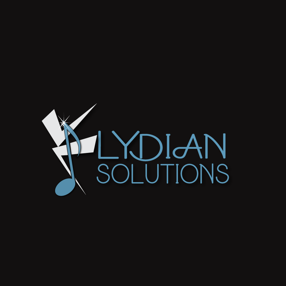 Logo Design by moonflower - Entry No. 73 in the Logo Design Contest Fun Logo Design for Lydian Solutions.