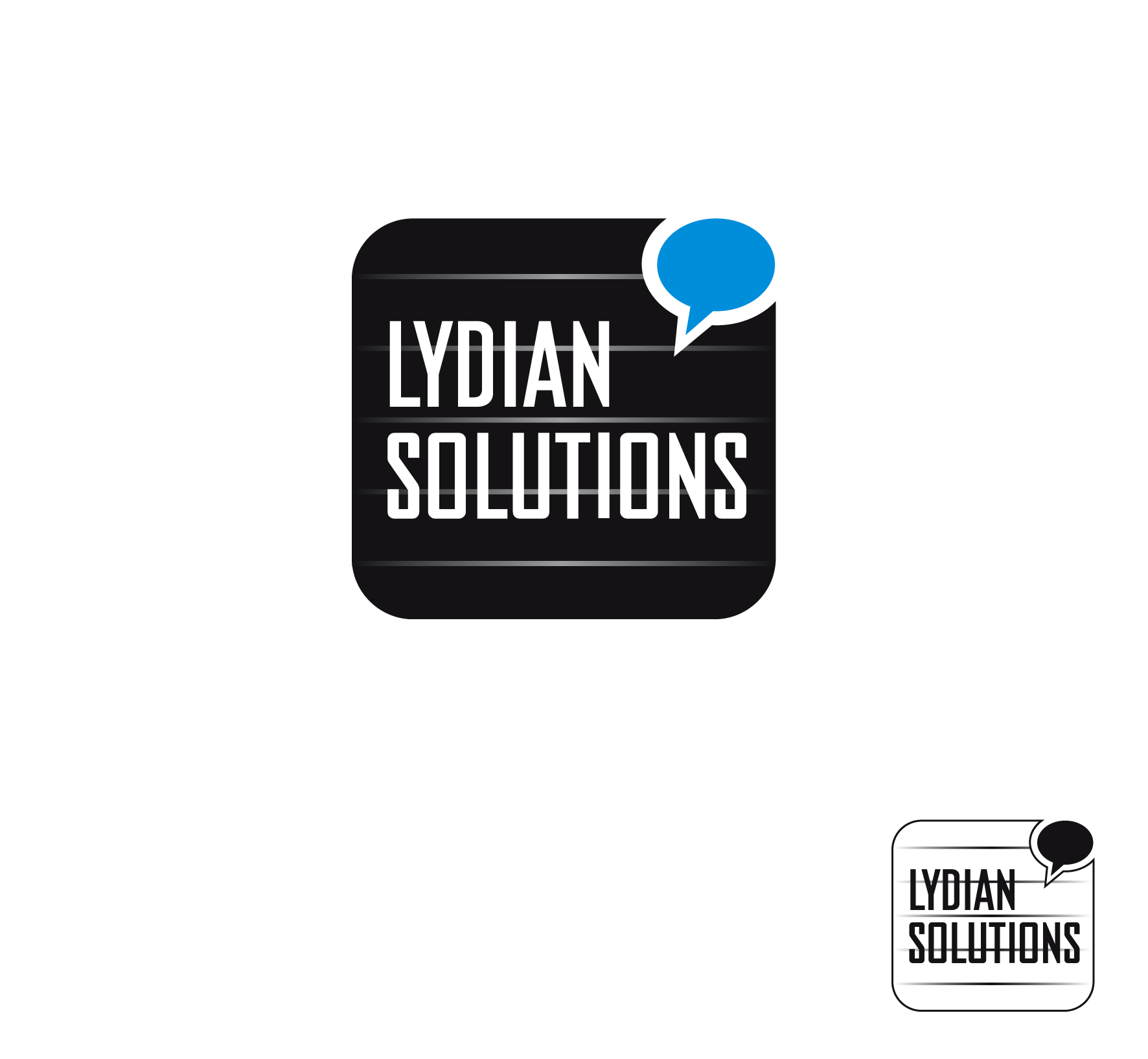 Logo Design by luna - Entry No. 89 in the Logo Design Contest Fun Logo Design for Lydian Solutions.
