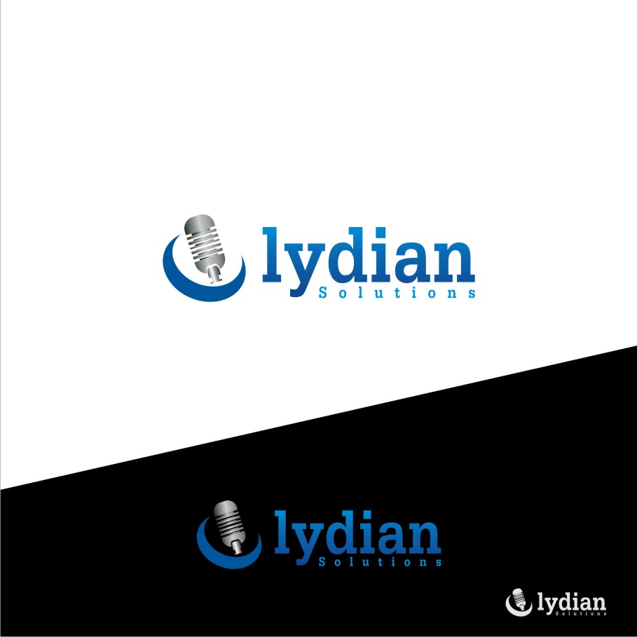 Logo Design by graphicleaf - Entry No. 94 in the Logo Design Contest Fun Logo Design for Lydian Solutions.