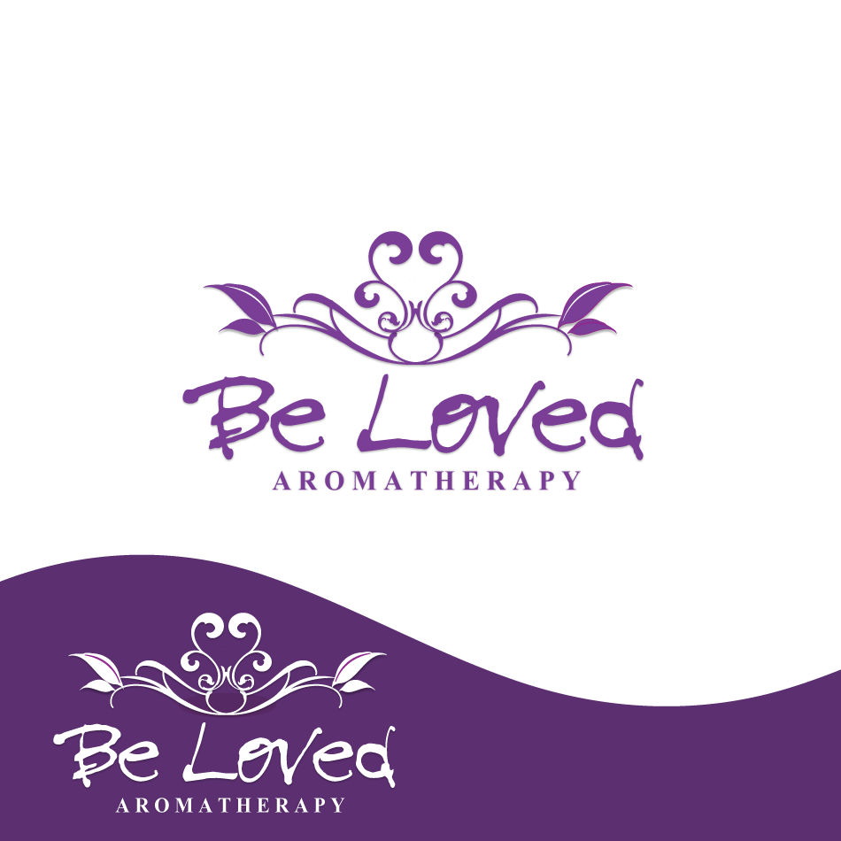 Logo Design by moonflower - Entry No. 44 in the Logo Design Contest Fun Logo Design for Be Loved Aromatherapy.
