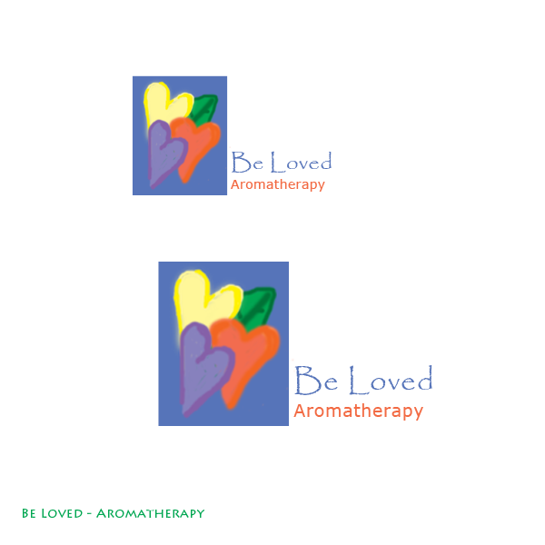 Logo Design by designabby - Entry No. 55 in the Logo Design Contest Fun Logo Design for Be Loved Aromatherapy.