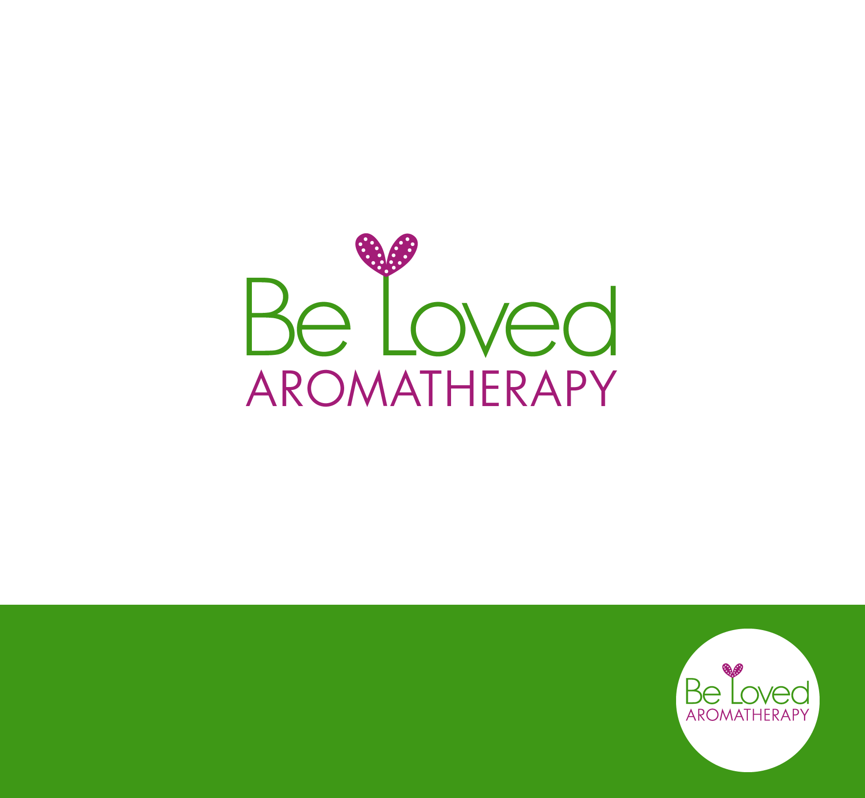 Logo Design by luna - Entry No. 57 in the Logo Design Contest Fun Logo Design for Be Loved Aromatherapy.