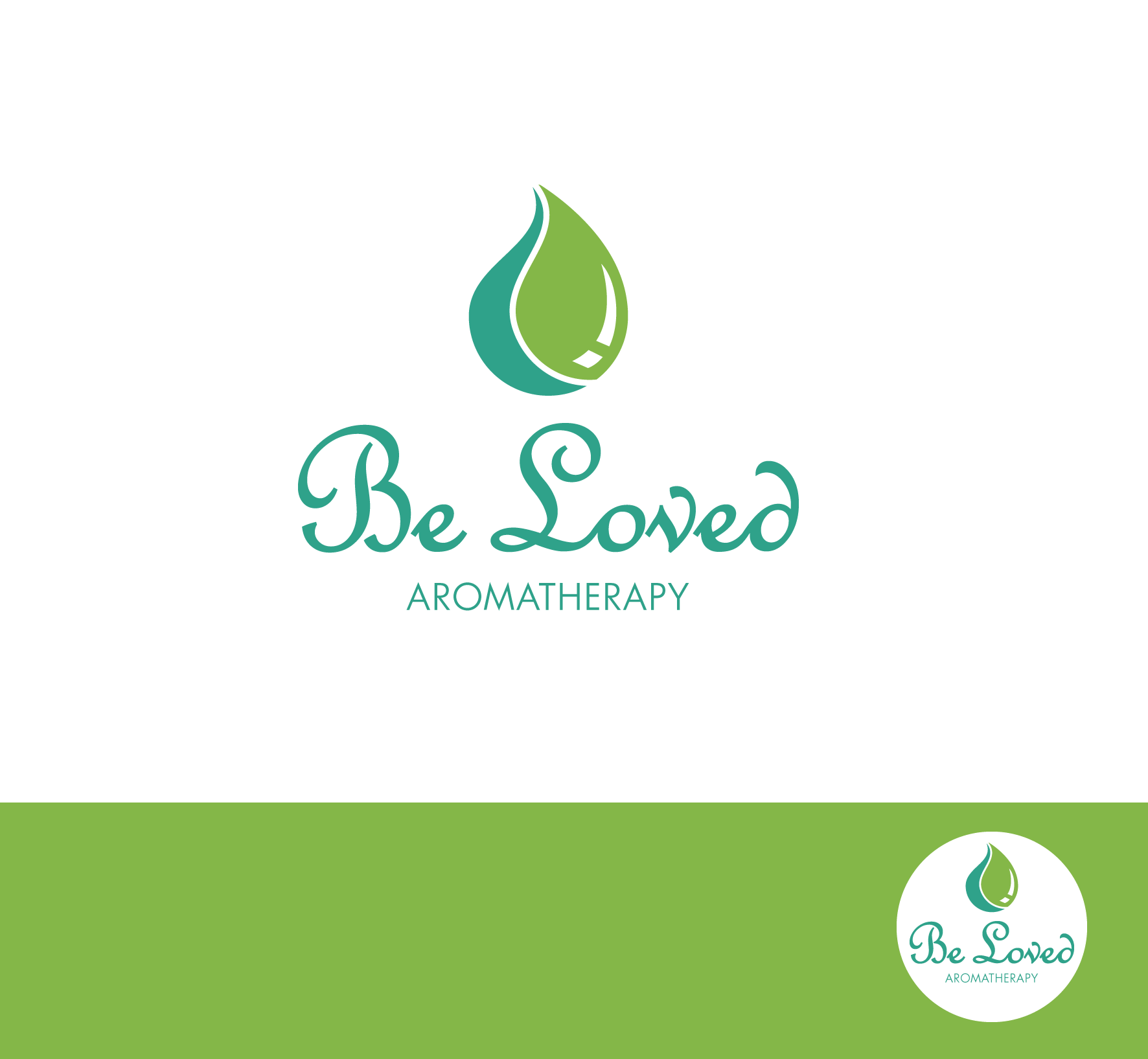 Logo Design by luna - Entry No. 58 in the Logo Design Contest Fun Logo Design for Be Loved Aromatherapy.