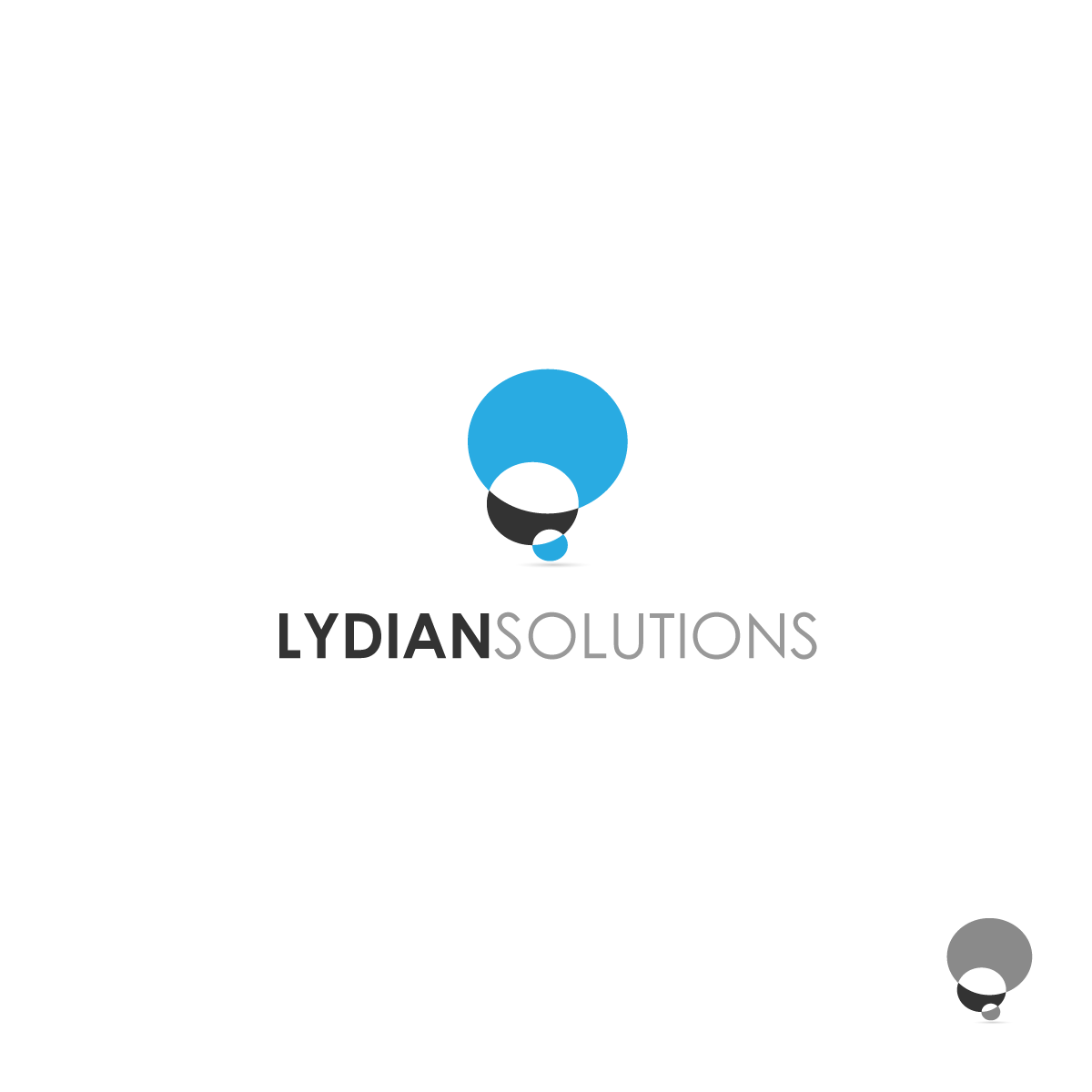 Logo Design by zesthar - Entry No. 132 in the Logo Design Contest Fun Logo Design for Lydian Solutions.