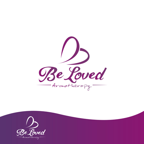 Logo Design by Rendra Jannu - Entry No. 63 in the Logo Design Contest Fun Logo Design for Be Loved Aromatherapy.