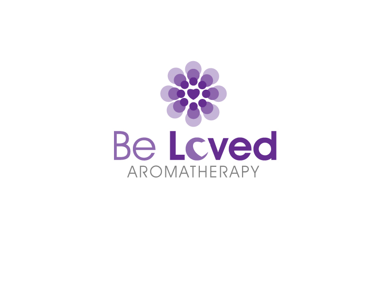 Logo Design by maxmix - Entry No. 67 in the Logo Design Contest Fun Logo Design for Be Loved Aromatherapy.