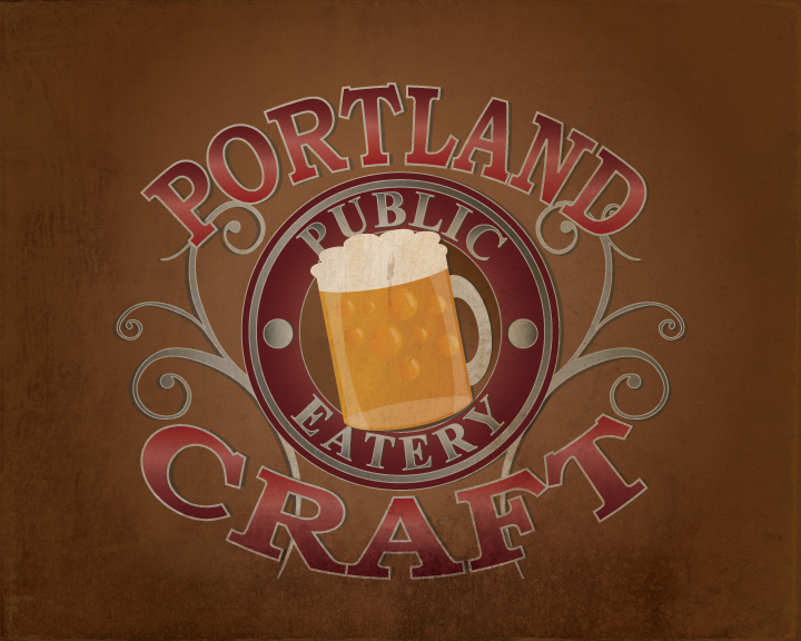 Logo Design by Jrberger - Entry No. 5 in the Logo Design Contest New Logo Design for Portland Craft Public Eatery.