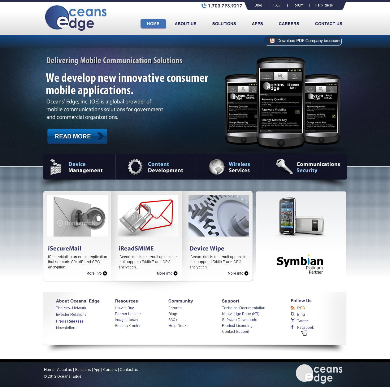 Web Page Design by smartinfo - Entry No. 35 in the Web Page Design Contest Web Page Design Needed for Company Oceans Edge Inc!.