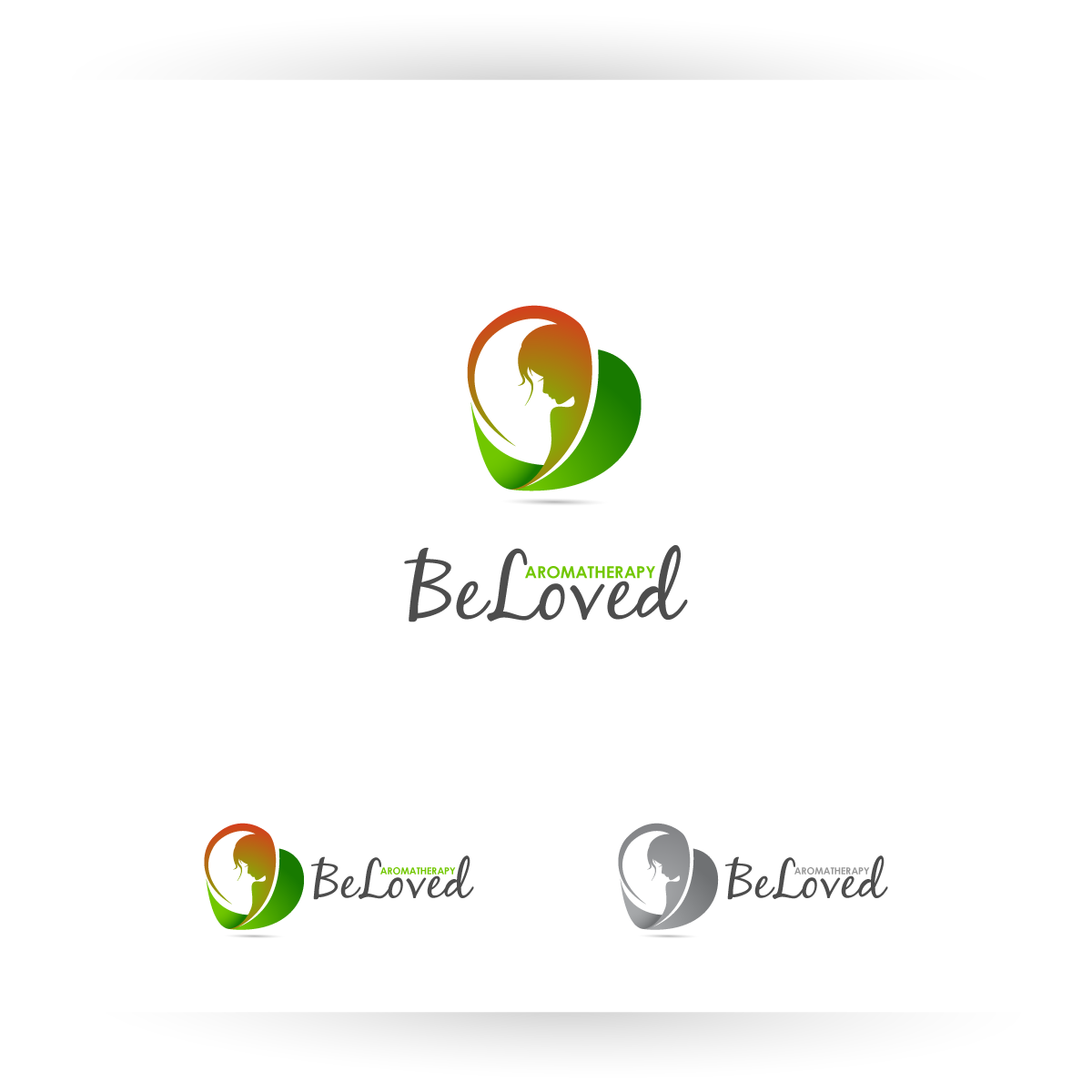 Logo Design by zesthar - Entry No. 87 in the Logo Design Contest Fun Logo Design for Be Loved Aromatherapy.