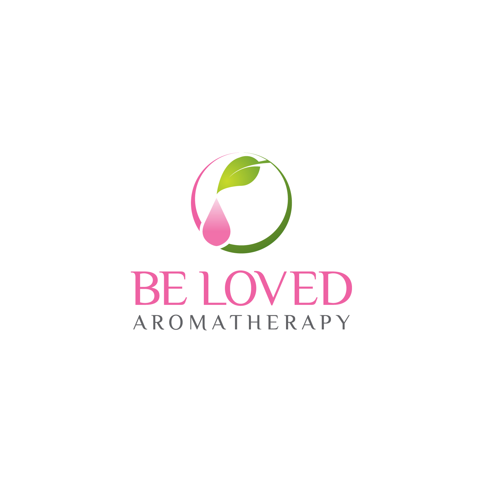 Logo Design by SIHEM - Entry No. 91 in the Logo Design Contest Fun Logo Design for Be Loved Aromatherapy.