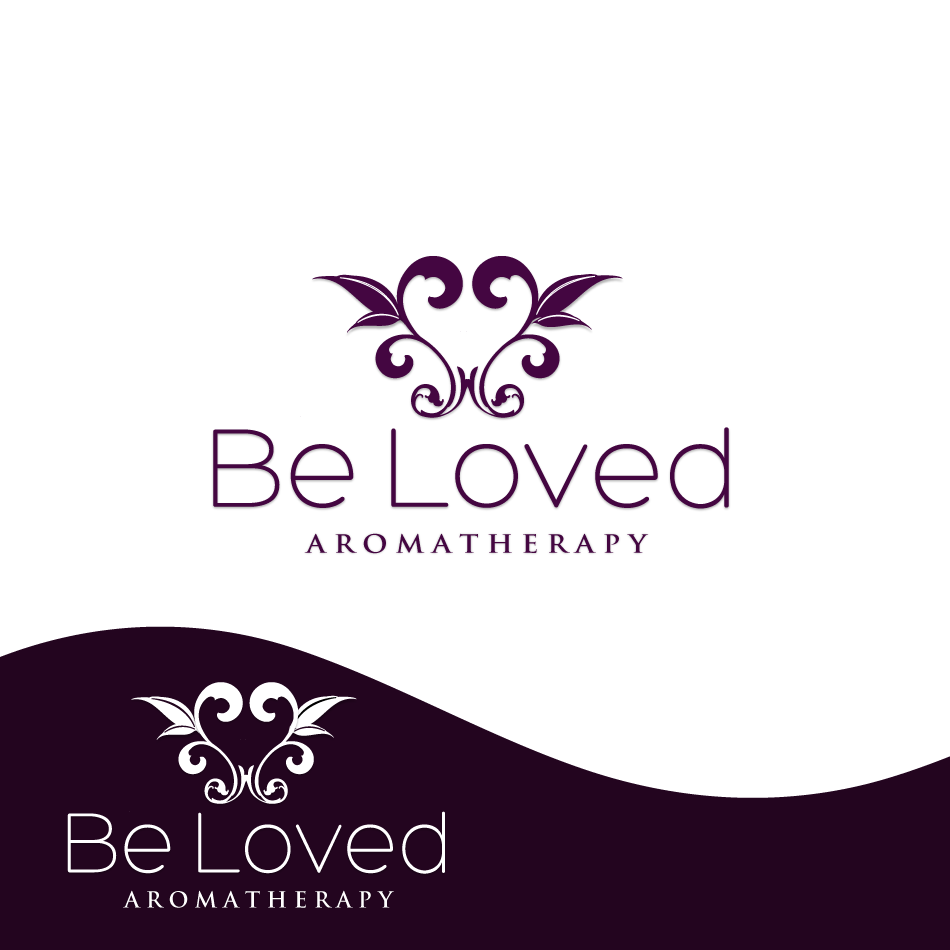 Logo Design by moonflower - Entry No. 94 in the Logo Design Contest Fun Logo Design for Be Loved Aromatherapy.