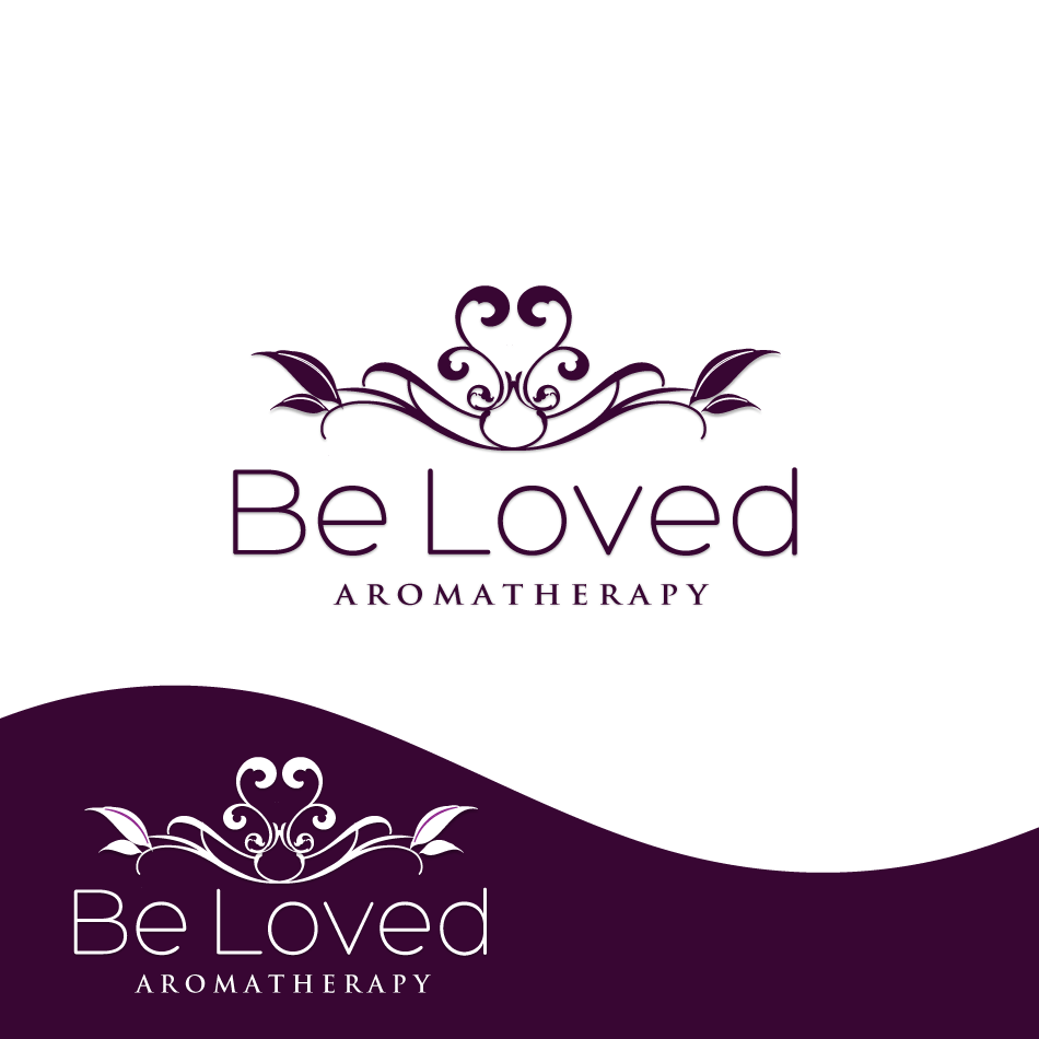 Logo Design by moonflower - Entry No. 96 in the Logo Design Contest Fun Logo Design for Be Loved Aromatherapy.
