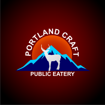 Logo Design by dhieko - Entry No. 15 in the Logo Design Contest New Logo Design for Portland Craft Public Eatery.
