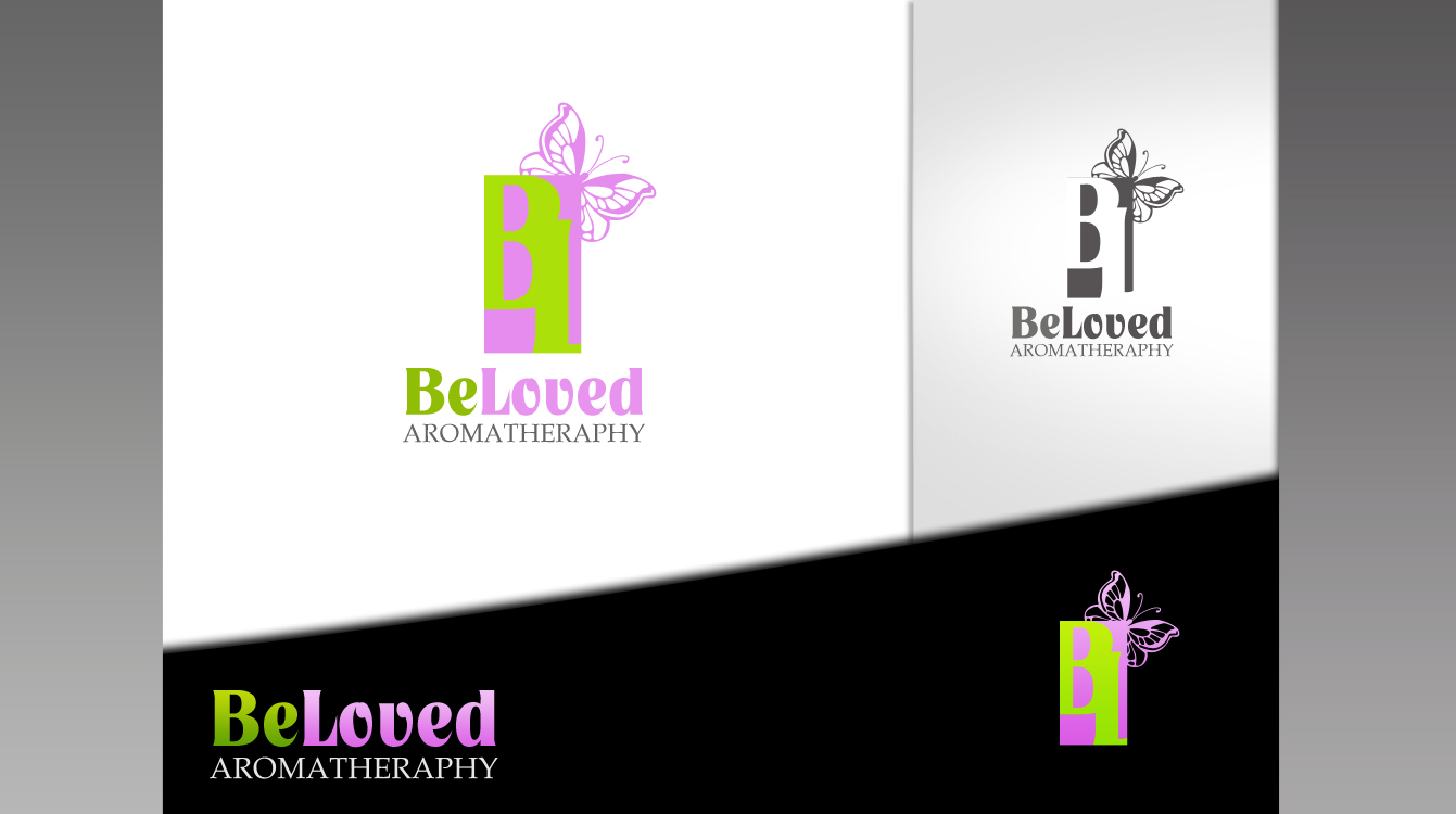 Logo Design by Private User - Entry No. 107 in the Logo Design Contest Fun Logo Design for Be Loved Aromatherapy.