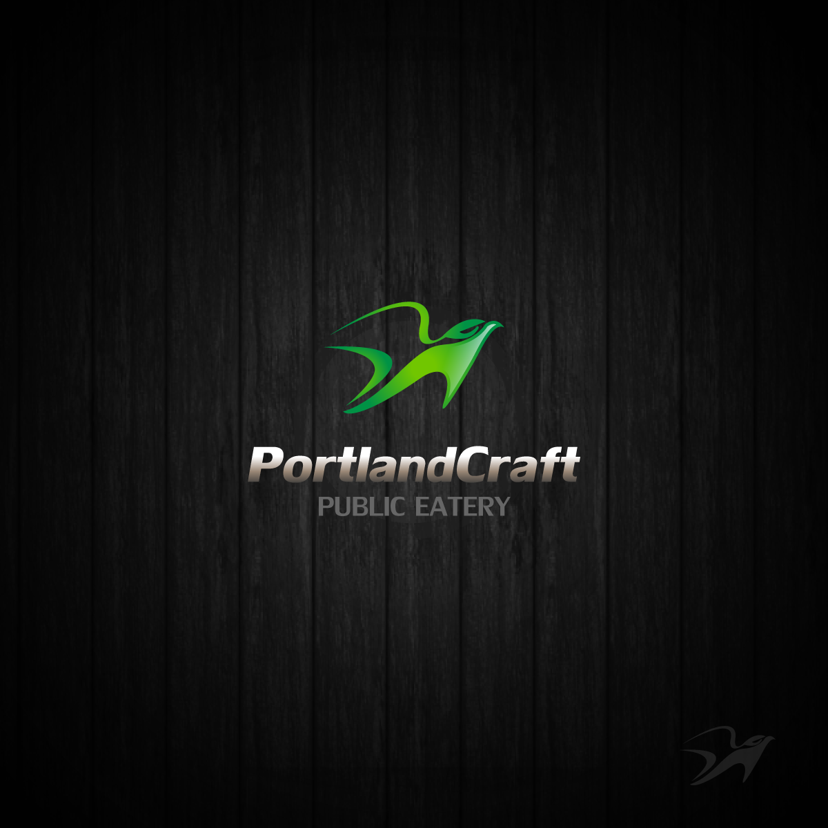 Logo Design by zesthar - Entry No. 18 in the Logo Design Contest New Logo Design for Portland Craft Public Eatery.