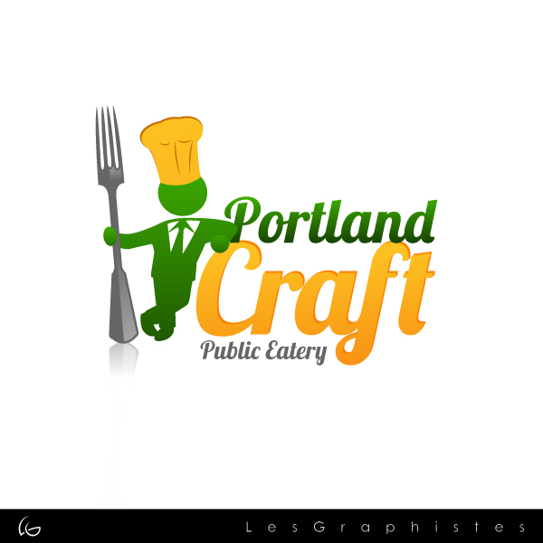 Logo Design by Les-Graphistes - Entry No. 20 in the Logo Design Contest New Logo Design for Portland Craft Public Eatery.