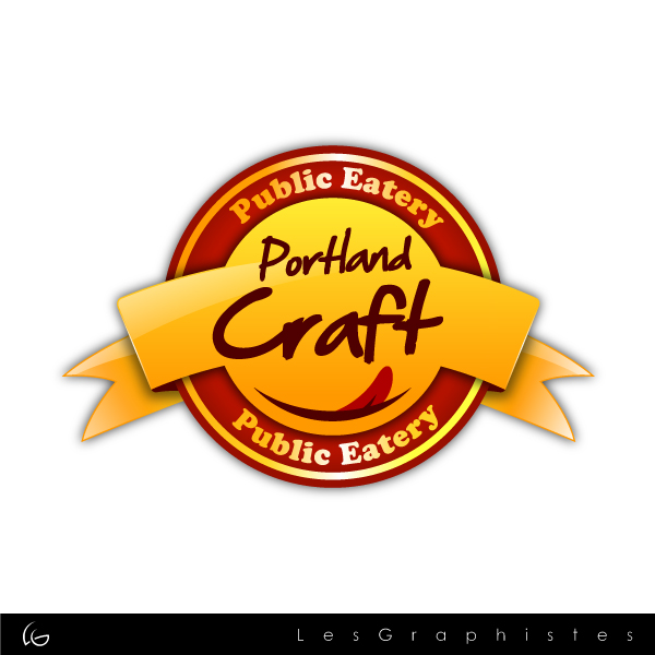 Logo Design by Les-Graphistes - Entry No. 21 in the Logo Design Contest New Logo Design for Portland Craft Public Eatery.