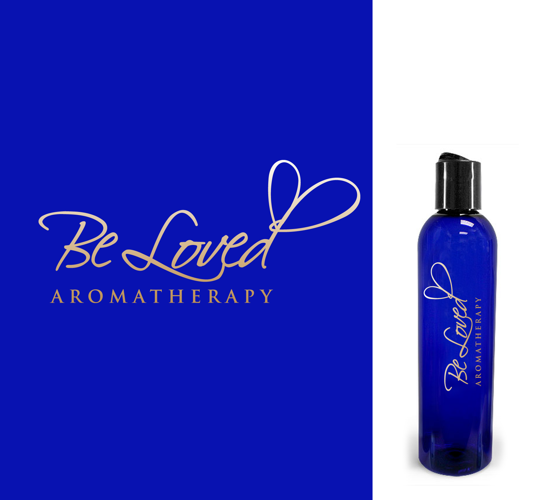 Logo Design by luna - Entry No. 108 in the Logo Design Contest Fun Logo Design for Be Loved Aromatherapy.