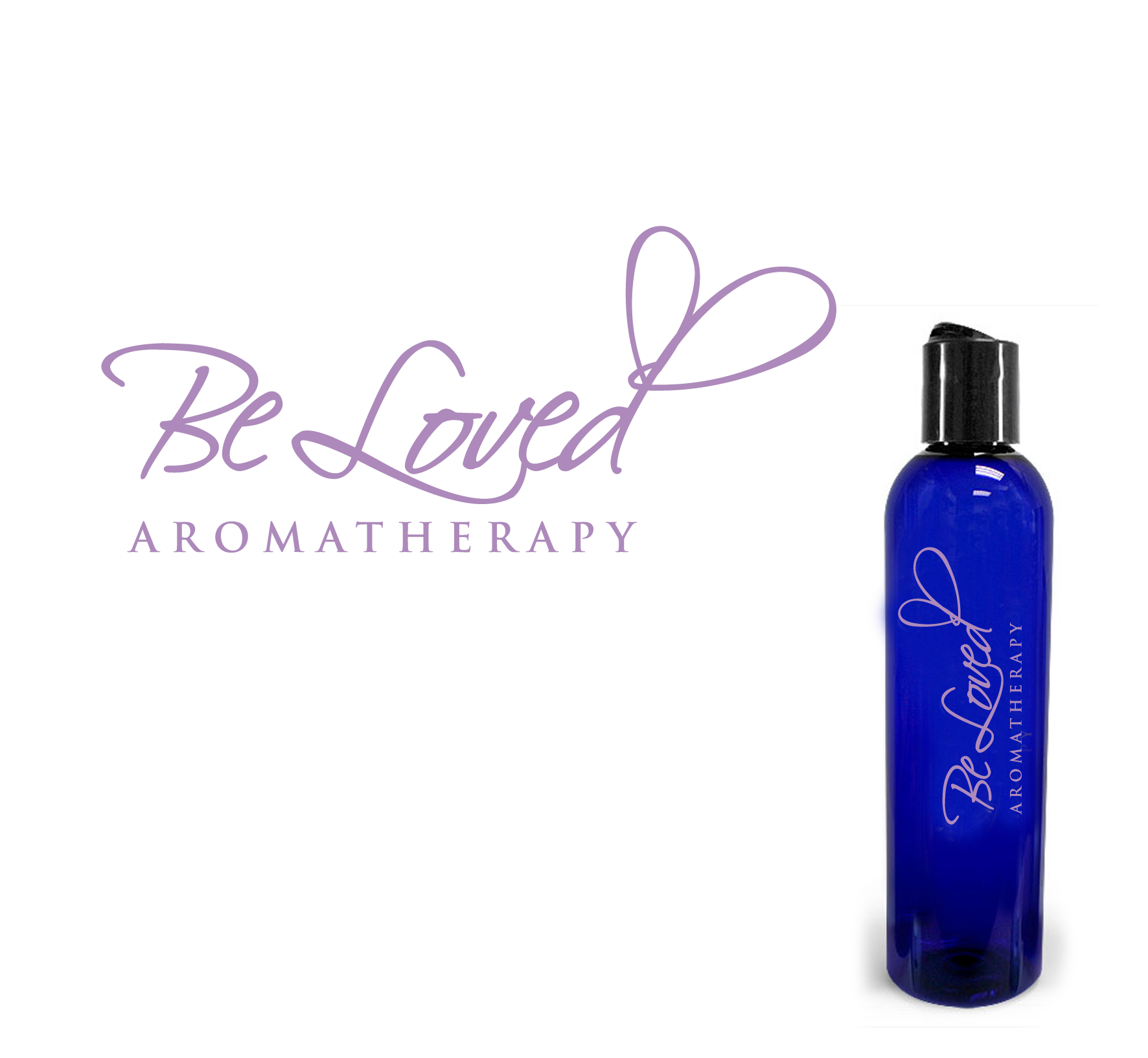 Logo Design by luna - Entry No. 109 in the Logo Design Contest Fun Logo Design for Be Loved Aromatherapy.