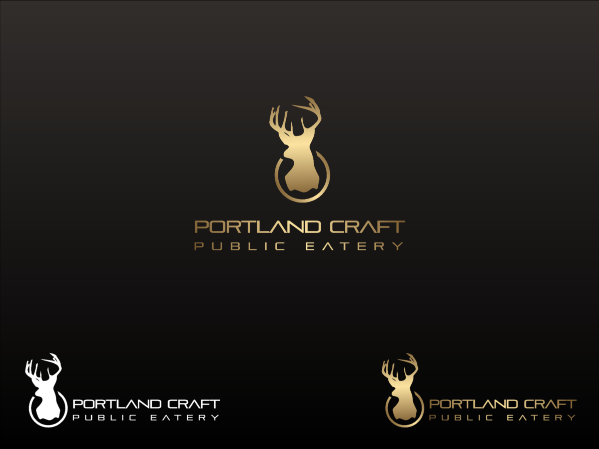 Logo Design by shariq_ssa - Entry No. 23 in the Logo Design Contest New Logo Design for Portland Craft Public Eatery.