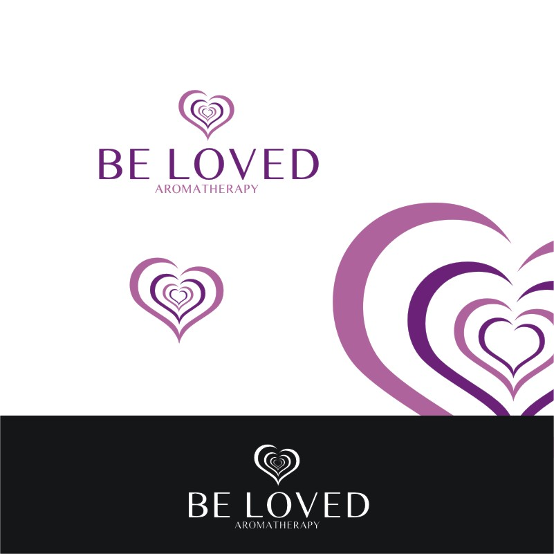 Logo Design by Private User - Entry No. 112 in the Logo Design Contest Fun Logo Design for Be Loved Aromatherapy.
