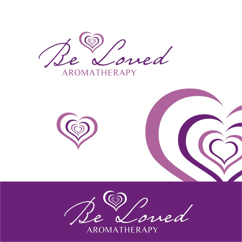 Logo Design by Private User - Entry No. 113 in the Logo Design Contest Fun Logo Design for Be Loved Aromatherapy.