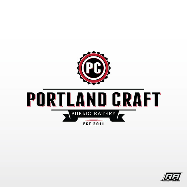 Logo Design by RA-Design - Entry No. 26 in the Logo Design Contest New Logo Design for Portland Craft Public Eatery.
