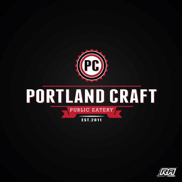 Logo Design by RA-Design - Entry No. 27 in the Logo Design Contest New Logo Design for Portland Craft Public Eatery.