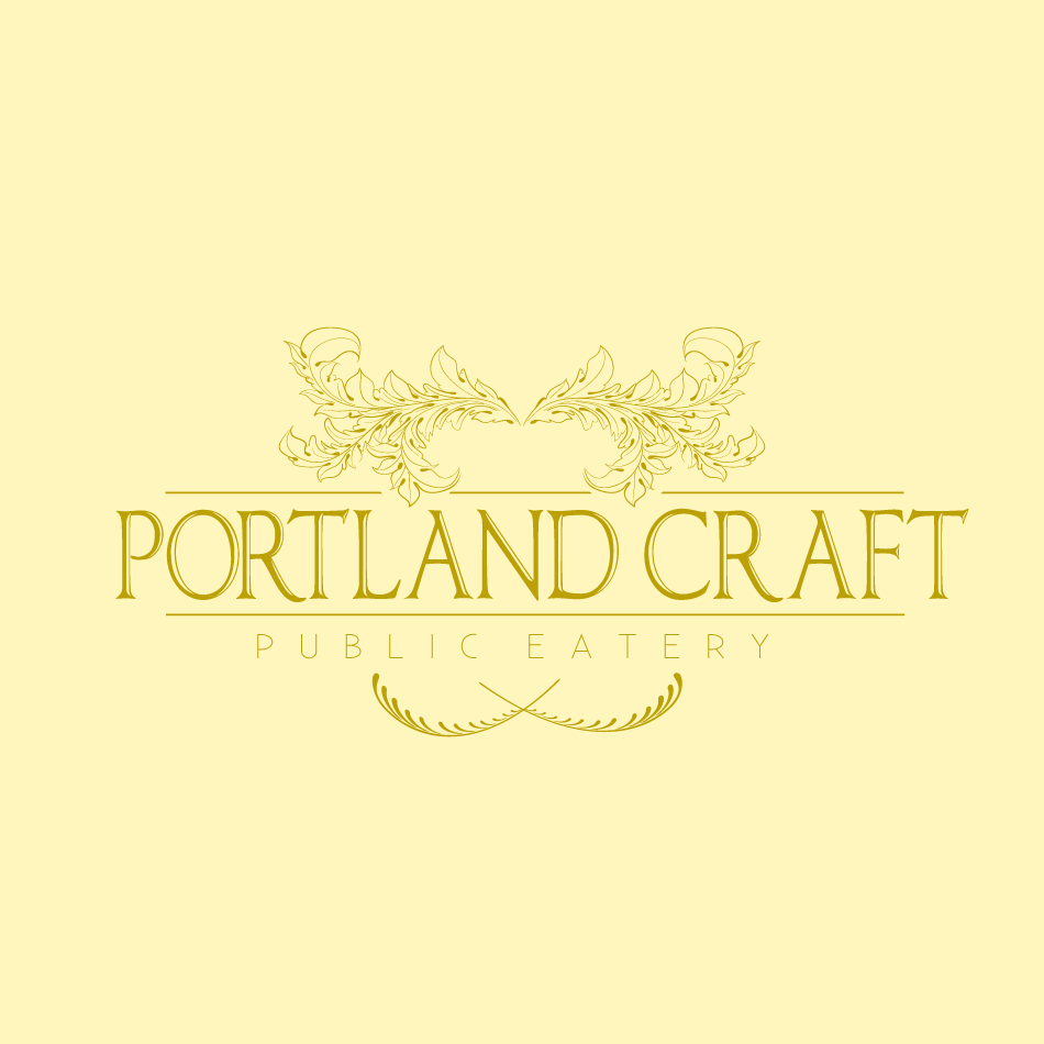 Logo Design by moonflower - Entry No. 32 in the Logo Design Contest New Logo Design for Portland Craft Public Eatery.