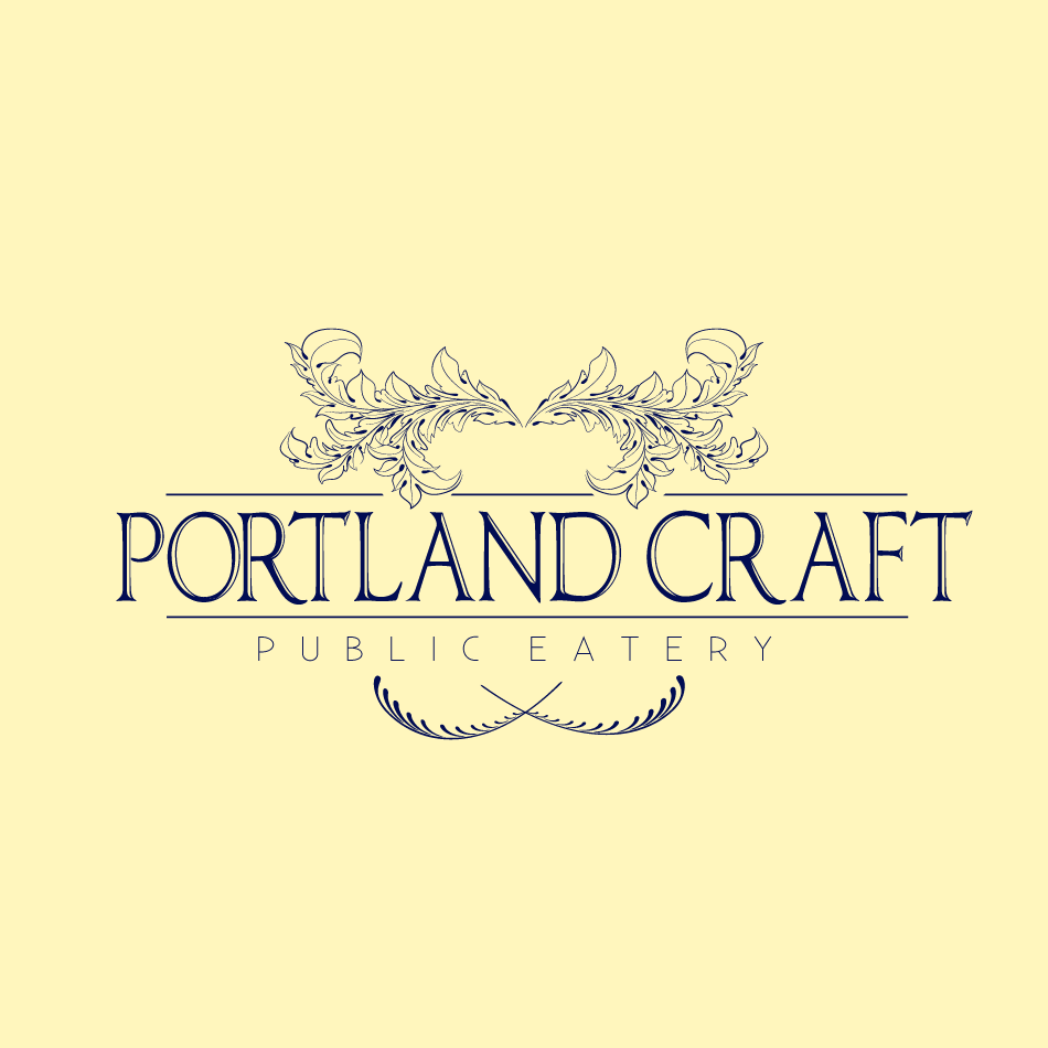 Logo Design by moonflower - Entry No. 33 in the Logo Design Contest New Logo Design for Portland Craft Public Eatery.