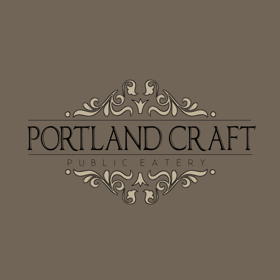 Logo Design by moonflower - Entry No. 35 in the Logo Design Contest New Logo Design for Portland Craft Public Eatery.