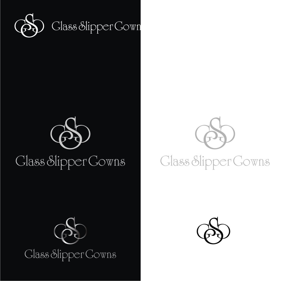 Logo Design by graphicleaf - Entry No. 28 in the Logo Design Contest New Logo Design for Glass Slipper Gowns.