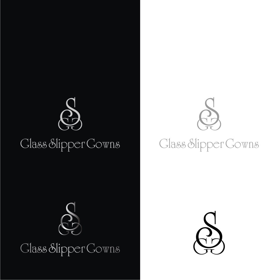 Logo Design by graphicleaf - Entry No. 29 in the Logo Design Contest New Logo Design for Glass Slipper Gowns.