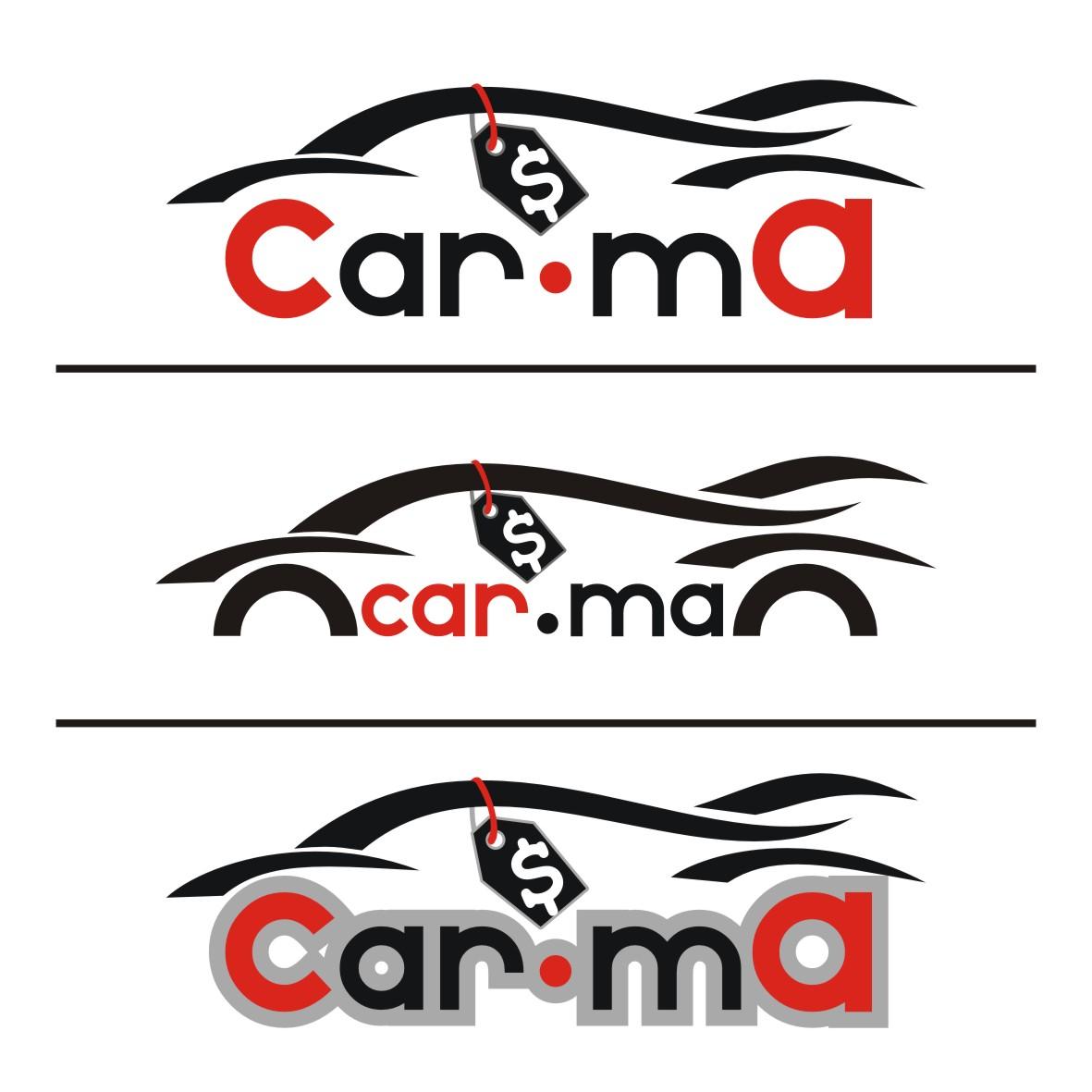 Logo Design by arteo_design - Entry No. 198 in the Logo Design Contest New Logo Design for car.ma.