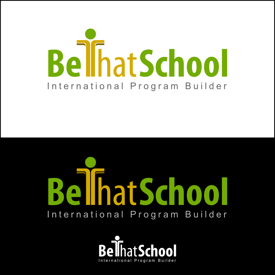 "Logo Design by Dee - Entry No. 10 in the Logo Design Contest Fun Logo Design for ""Be That School""."