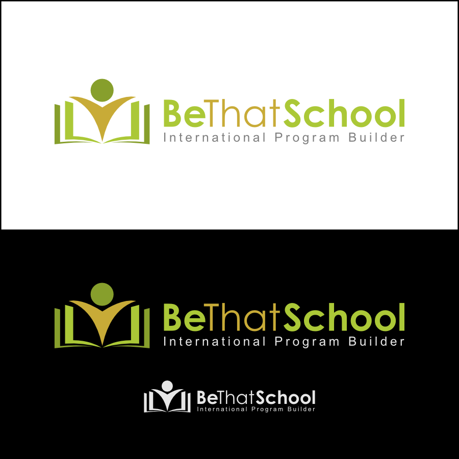 "Logo Design by Dee - Entry No. 11 in the Logo Design Contest Fun Logo Design for ""Be That School""."