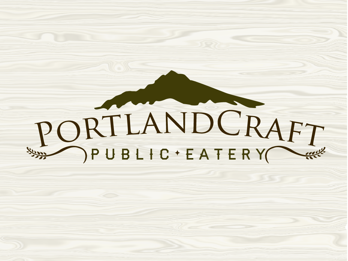 Logo Design by PentaCreative - Entry No. 36 in the Logo Design Contest New Logo Design for Portland Craft Public Eatery.
