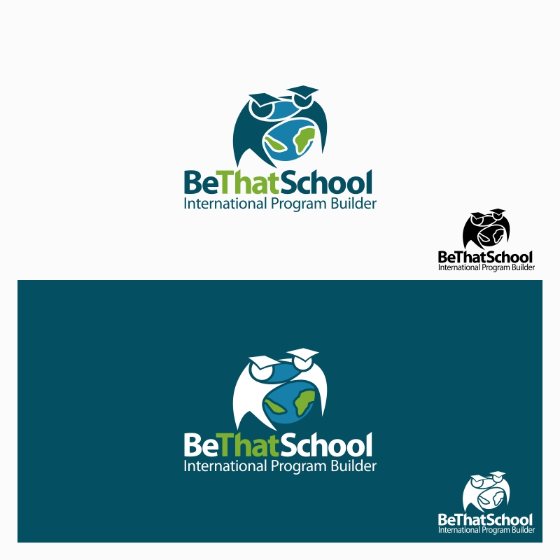 """Logo Design by Private User - Entry No. 12 in the Logo Design Contest Fun Logo Design for """"Be That School""""."""