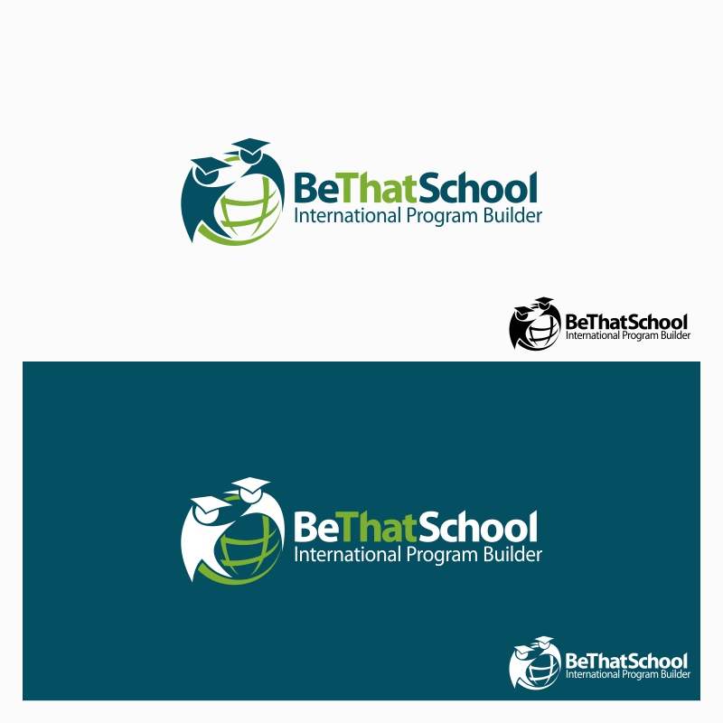 "Logo Design by Private User - Entry No. 13 in the Logo Design Contest Fun Logo Design for ""Be That School""."
