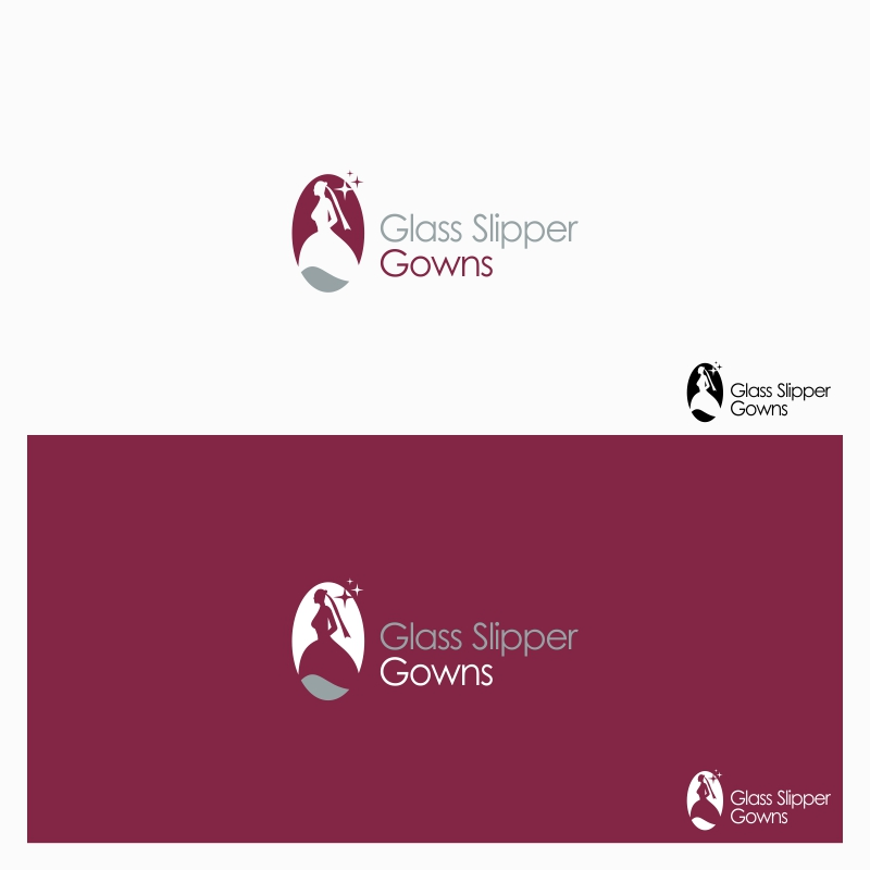 Logo Design by Private User - Entry No. 37 in the Logo Design Contest New Logo Design for Glass Slipper Gowns.