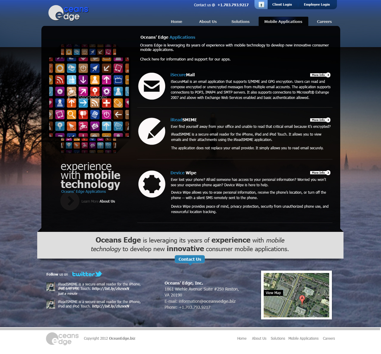 Web Page Design by rockpinoy - Entry No. 86 in the Web Page Design Contest Web Page Design Needed for Company Oceans Edge Inc!.