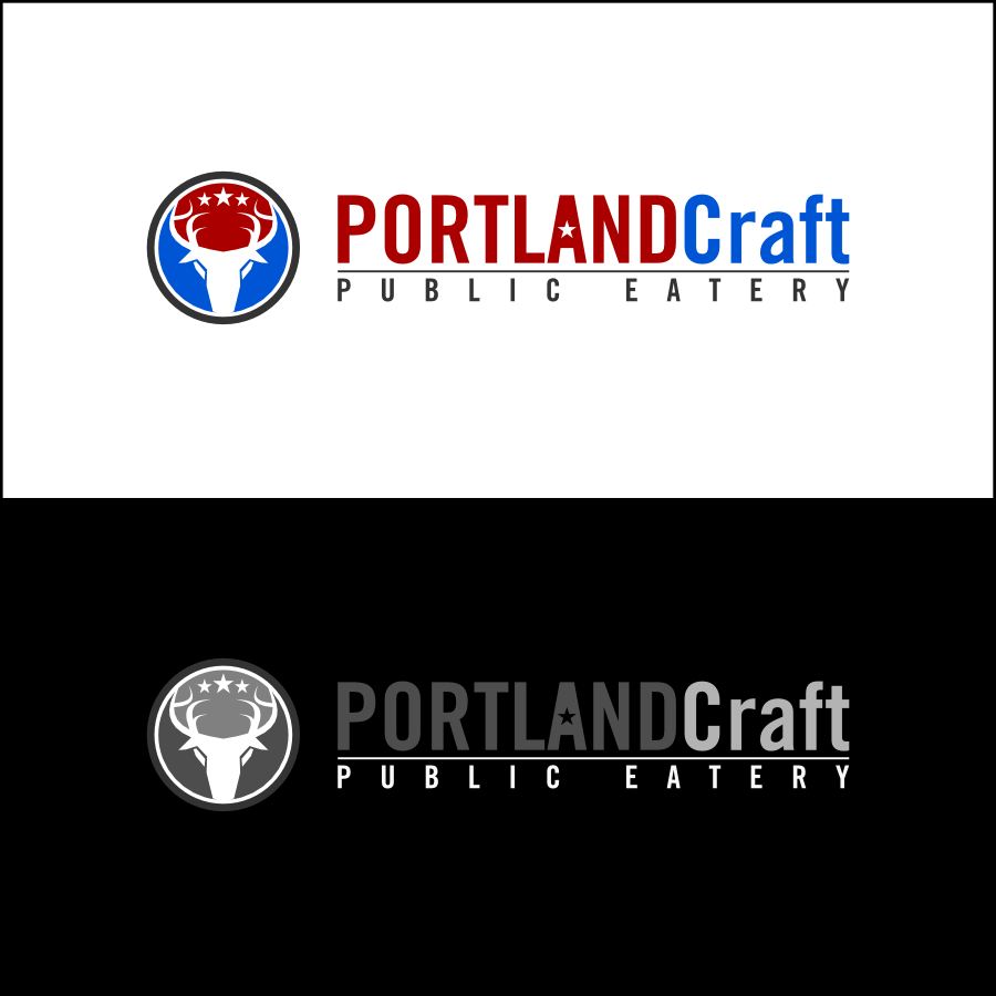 Logo Design by Dee - Entry No. 38 in the Logo Design Contest New Logo Design for Portland Craft Public Eatery.