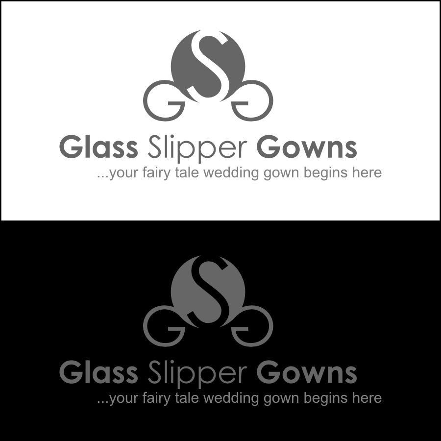 Logo Design by Dee - Entry No. 45 in the Logo Design Contest New Logo Design for Glass Slipper Gowns.