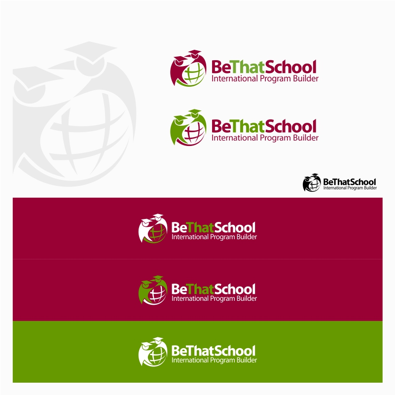 "Logo Design by Private User - Entry No. 15 in the Logo Design Contest Fun Logo Design for ""Be That School""."